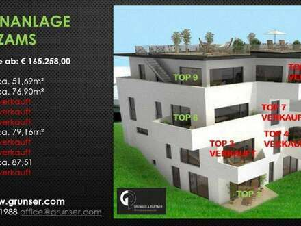 2 Zimmer Neubau-Eigentumswohnung TOP 1