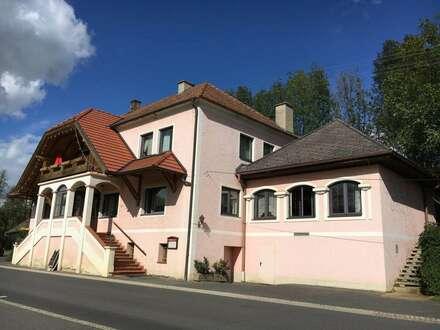 Gasthaus mit großer Wohnung und 1ha. Grund