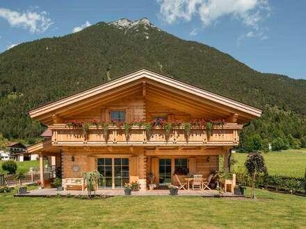 FREIZEIT-Wohnsitz Holzblockhaus Traumlage Achensee