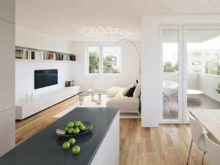 Gartenwohnung - schnell zugreifen! Hier wird Wohnen zum Genuss: Energiesparend Kühlen dank KlimaLoop!