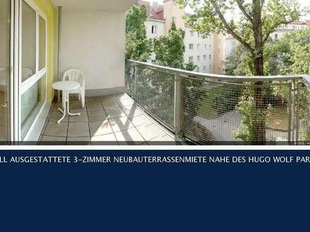 19.Krottenbachstrasse - 3-ZIMMER NEUBAU-LOGGIAMIETE NAHE DES HUGO WOLF PARKS