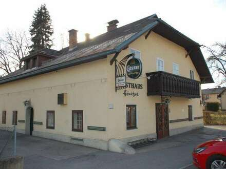 Uriges Gasthaus in frequentierter Lage