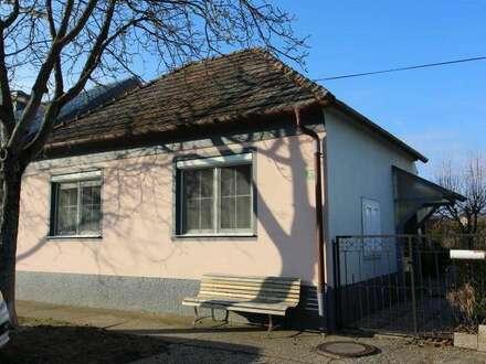 7163 Andau kleines feines renovierungsbedürftiges Einfamilienhaus in Ruhelage mit großem Grundstück