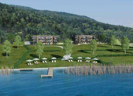 Ostbucht am Ossiacher See! Neubau-ETW mit Seezugang in ufernaher Lage