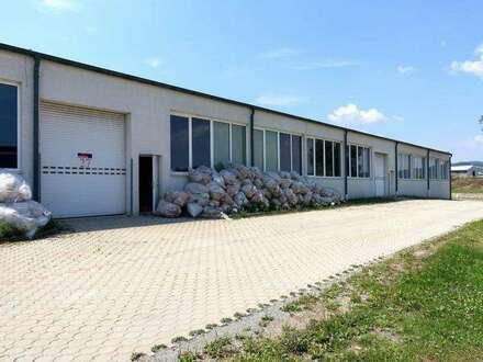 10min nach Eisenstadt! Industriegelände - Lagerhalle / Werkstatt! 850m2! Rolltore! LKW-Rampe!