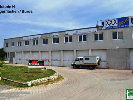 GEWERBEPARK DONNERSKIRCHEN - 10m2 - 1500m2! Lager, Werkstatt, Büro, Geschäft ab 25€ Netto/Monat! Zufahrt mit großen LKW's möglich!