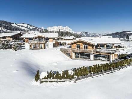Architektonisches Design-Highlight im exklusiven Tiroler Stil