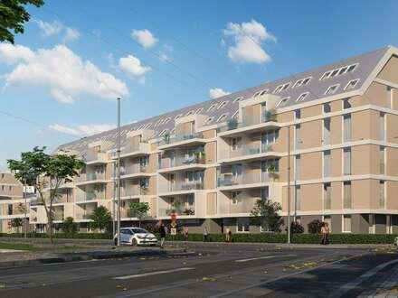 !Im Herzen des 13. Bezirks, Charmante, gut aufgeteilte Wohnung im EDEN 13! Sonnendurchflutete Loggia! Rohbau fertiggestellt!