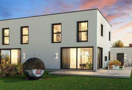 Neubau Doppelhaushälfte in Dobl-Muttendorf