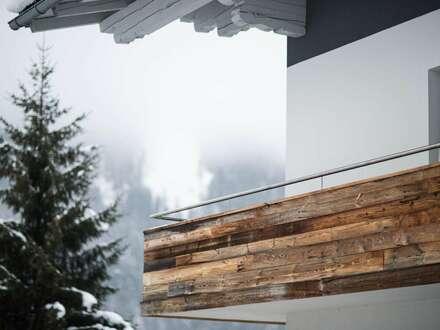 Möblierte 2-Zimmer-Wohnung mit Balkon und privatem Wellness-Bereich