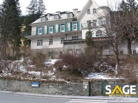 Kurhotel mit 3382m² Grund im Zentrum von Bad Gastein - Renovierungsbedürftig