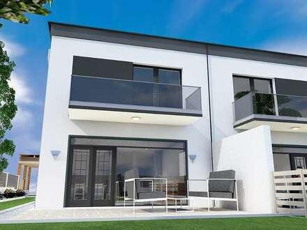 PROVISIONSFREI - hochwertigst ausgestattete Doppelhaushälfte mit Flachdach