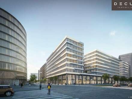 AM HAUPTBAHNHOF | Bürohaus QBC 1 im Quartier Belvedere |
