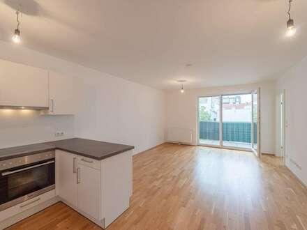 ++NEU++ Perfekt aufgeteilte 2-Zimmer Neubauwohnung mit Balkon!