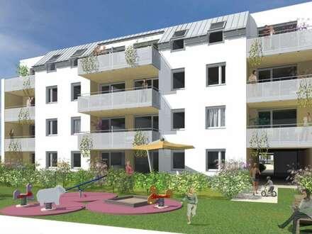 Geförderte Genossenschaftswohnung mit Eigengarten in Mietkauf