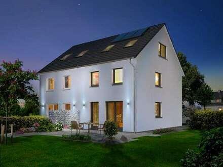 Das Doppelhaus Wien 139 m² inEggelsberg, Town & Country, Ziegel-Massiv