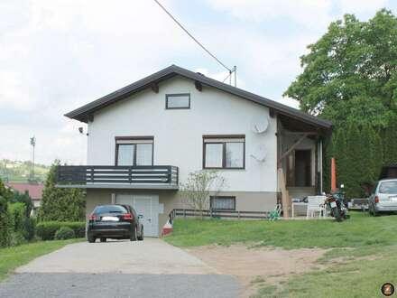 Nahe Stegersbach: Miethaus mit Garage, Garten, Keller und Werkstatt