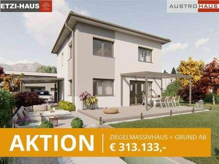 AKTION: Haus+Grund ab € 308.352,- Pilsbach/Kirchstetten