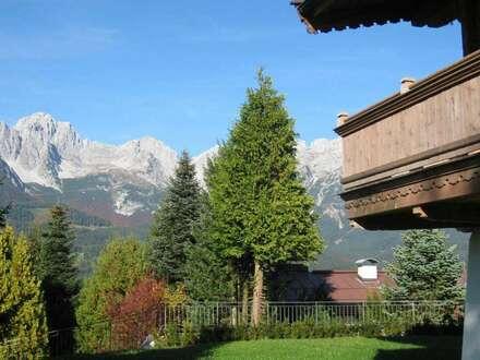 ID 1744 - ELLMAU - Einladendes Tiroler Haus in Ruhelage, mit Kaiserblick und Sonne !