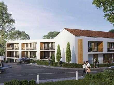 PAUL & PARTNER: Mehrere Erstbezugs-Mietwohnungen mit Loggia und Garten