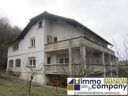 Bezirk Jennersdorf - Großzügiges Haus mit zwei Wohneinheiten in ruhiger Lage