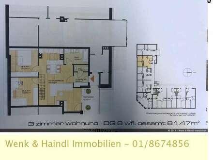 Geräumige Dachgeschoßwohnung mit Dachterrasse in Felixdorf!