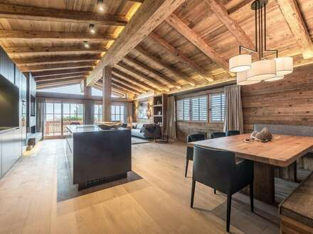 Besonderes Penthouse -ski in ski out- in Traumlage