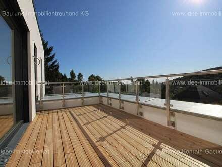 Miete: 6 Zimmer in exklusive Doppelhaushälften mit großzügigem Garten und tollen Terrassen in bester Lage Klosterneuburgs - KLG29HIII