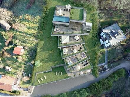 ERSTBEZUG + TOP 4 + LUXUSPENTHOUSE + DIREKT VOM BAUTRÄGER + 144,77 m² WNF ° 97,02 m² SONNENTERRASSE