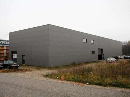 Werkstatt oder Lagerhalle mit Genehmigungen und weiterem großen Grundstück
