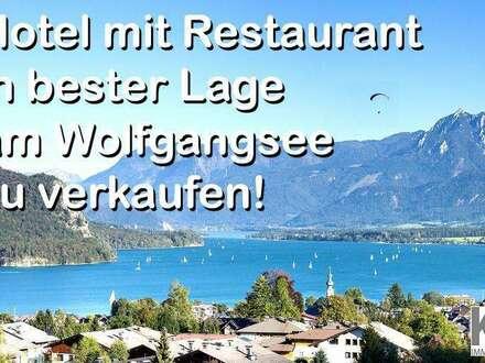 Hotel mit Restaurant am Wolfgangsee zu verkaufen!