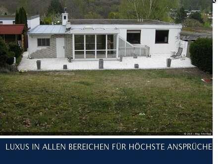 KALTENLEUTGEBEN - ARCHITEKTENVILLA IN TRAUMHAFTER RUHELAGE UNMITTELBAR BEIM WIENERWALD