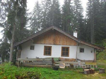 Berghütte in wunderschöner Alleinlage mit einzigartigen Ausblick – Nähe Wildschönau