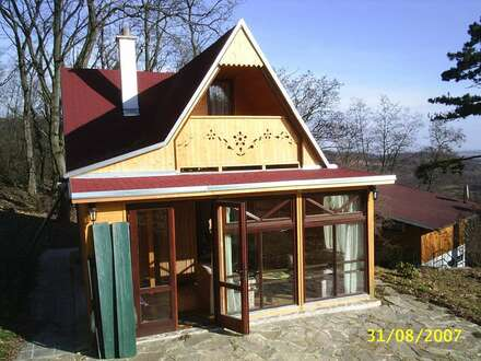 Waldhaus mit Garten