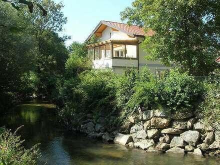 Wunderschöne ehemalige Mühle im Grünen