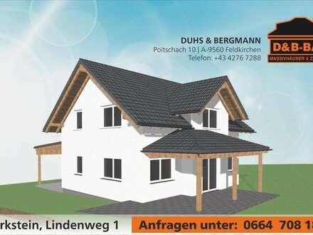 NEUES Einfamilienwohnhaus (Haus+Grund) in Feldkirchen mit 900 m2 Grund