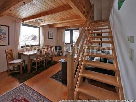 Helle und gemütliche Kleinwohnung mit Galerie in Jochberg