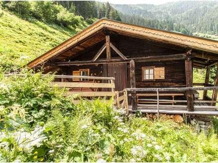 Urige Almhütte im Zillertal zu vermieten