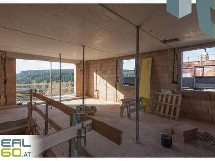 """BAUFORTSCHRITT """"ALPENBLICK"""" Maisonette mit Balkon, Dachterrasse und Garten! - HAUS C   TOP 8"""