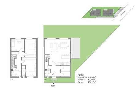 Coming Soon - Zwei Doppelhäuser in Waldrandlage mit Top Anbindung nach Wien