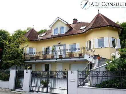 PREISREDUKTION: Charmante Villa in herrlicher Grünlage
