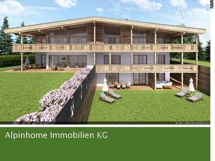 Gemütliche Neubau-Terrassen-Wohnung in sonniger Aussichtslage in Fieberbrunn!
