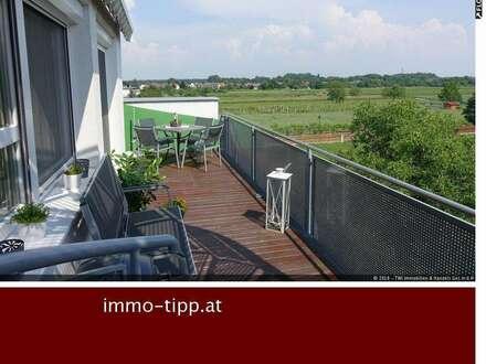 RESERVIERT! Traumhafte Eigentumswohnung mit Fernblick und großer Dachterrasse in Leobersdorf