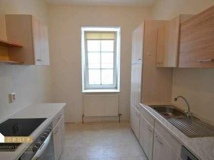 gut angelegte Erdgeschoßwohnung 2 Zimmer, Küche, inkl PKW Stellplatz