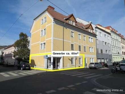 Gewerbefläche ca. 60m² im Erdgeschoss für viele Verwendungsmöglichkeiten in Graz!