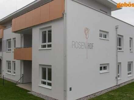 26 geförderte Genossenschaftswohnungen mit Freiflächen