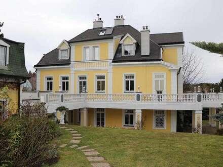 Burg Liechtensteinblick! Gartenwohnung inkl. HZ u. WW in Jahrhundertwendevilla!