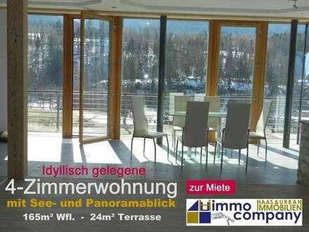 Moderne 4-Zimmerwohnung mit See- und Panoramablick