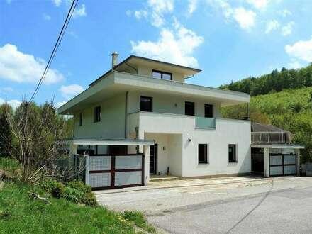 Toppreis! 290m² Wfl. + 1400m² Gartenfäche! Modernes Famillienidyll mitten im Grünen und doch nicht weit von Wien!