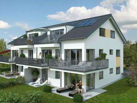 NEUBAU in Anthering! Feine 2-Zimmer-Terrassenwohnung mit tollem Ausblick.